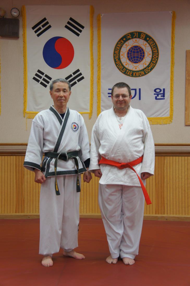 Red Belt in hapkido pic 2 by kefkaRaiders