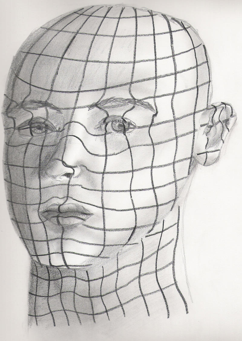 Contour Line Drawing Makeup : Contours of the face by ma ter on deviantart