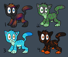 Free Adoptables 2 [CLOSED] by o0STARCHASER0o