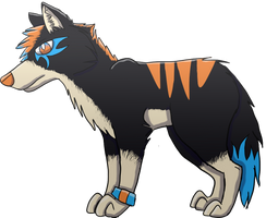 Random Wolf by o0STARCHASER0o
