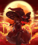 [Fanart] Wadanohara Final normal 1 - La bruja roja