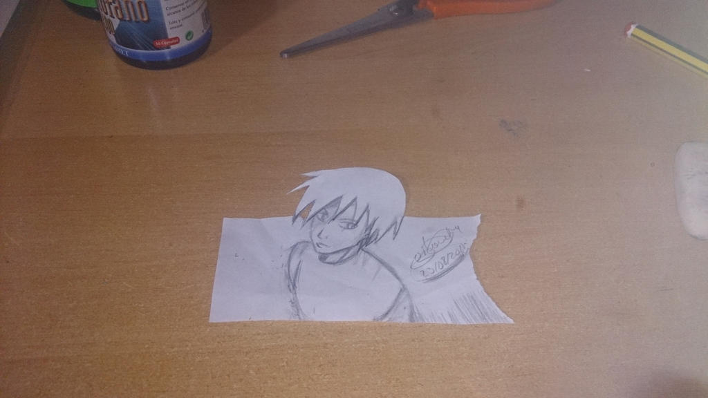 3d manga character first attempt  by Reika2