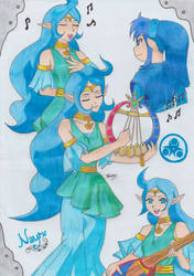Nayru by Miyakun6