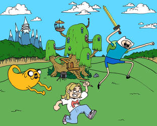 Adventure Time with Marilyn by MatthewLaipple