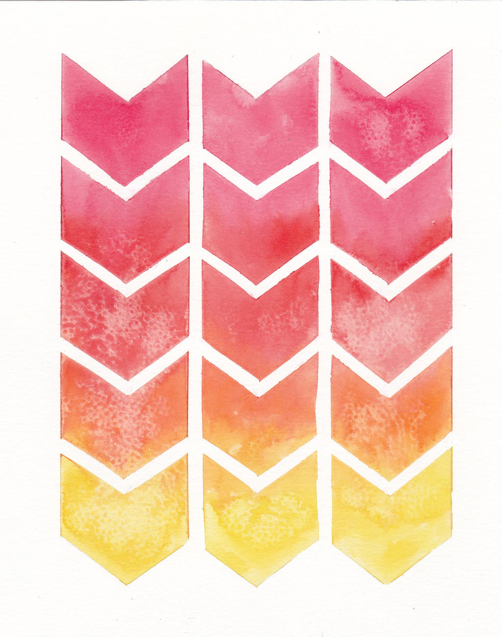 Ombre Chevron Backgrounds