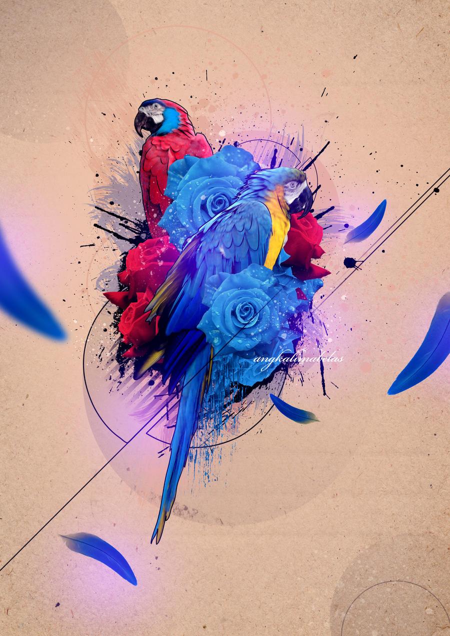 Beautiful Bird by angkalimabelas