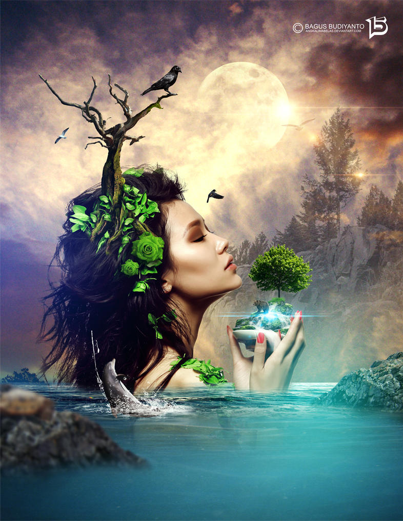 Mother Nature by angkalimabelas