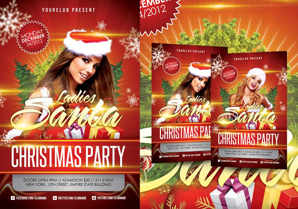 Christmas Party Flyer Templates. make your own party flyer 30 ...