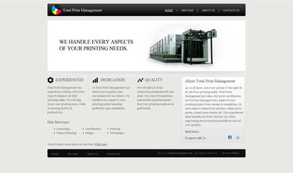 Webdesign mockup 10