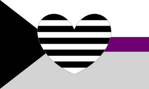 Demisexual Heteroromantic Pride Flag