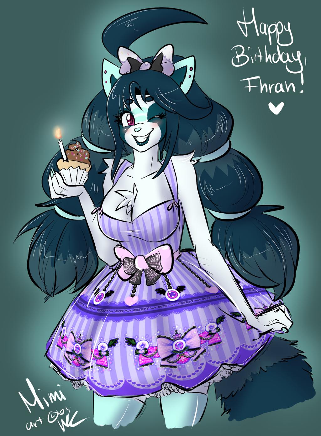 Happy Birthday, Fhran! by Carmalicious