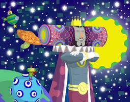 'Starry Night Sky' by K-S-O