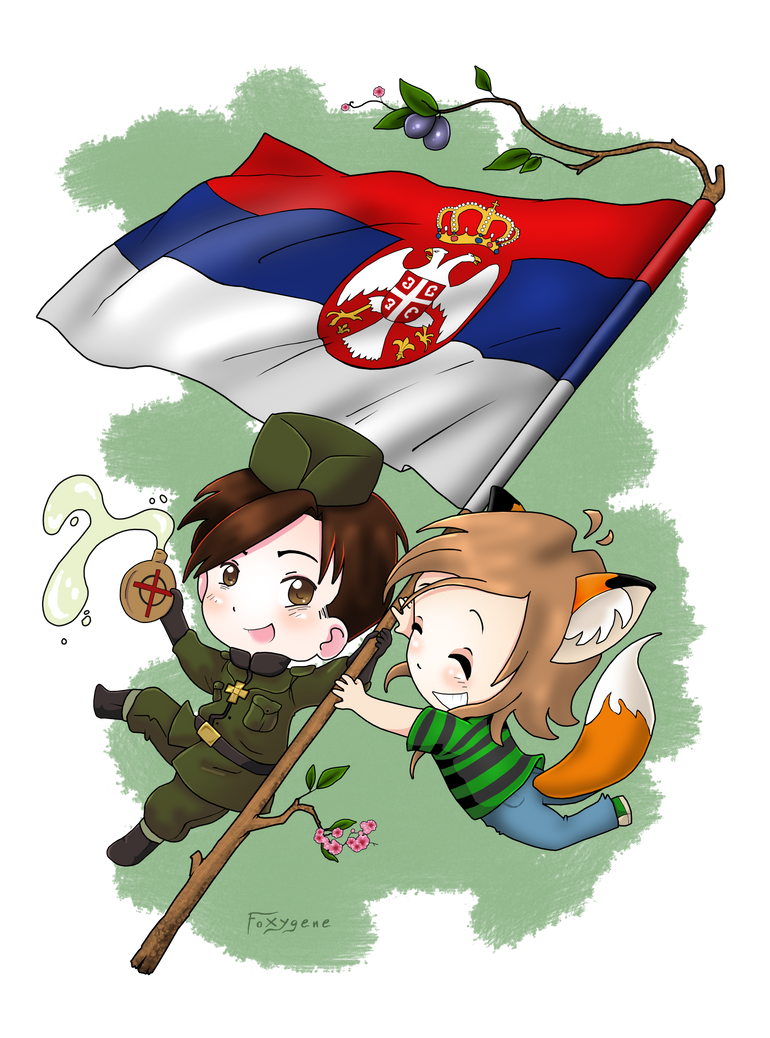 Hetalia, Serbia-kun and me by Foxygene