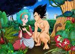 Bulma and Vegeta - Tarzan Spoof