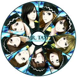 SNSD Anime Version - Mr. Taxi by Suihara