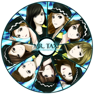 SNSD Anime Version - Mr. Taxi