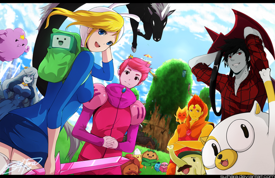 Genderbent Adventure Time!