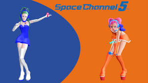 Space Channel 5: Pudding and Ulala HD Wallpaper