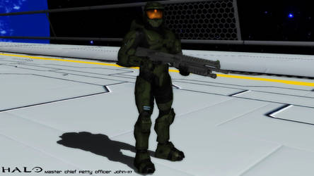 (MMD Model) Master Chief Download
