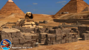 (MMD Stage) Egyptian Dig Site Download