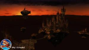 (MMD Stage) Sky Citadel Download