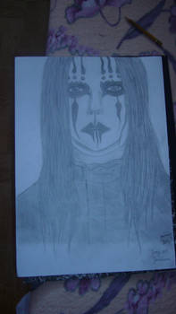 Portrait: Joey Jordison (By: Maggot-Stay-SIC-666)