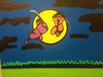 Ninja gaiden acrylic painting by Kooltactic