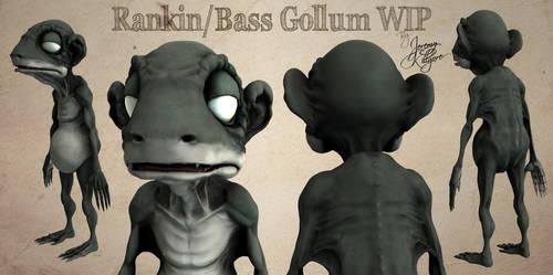Rankin/Bass Gollum WIP by 0utlanD3r