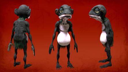 Rankin/Bass Gollum by 0utlanD3r