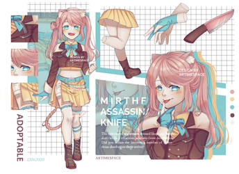 [CLOSED] Adoptable #1: Mirthful Assassination