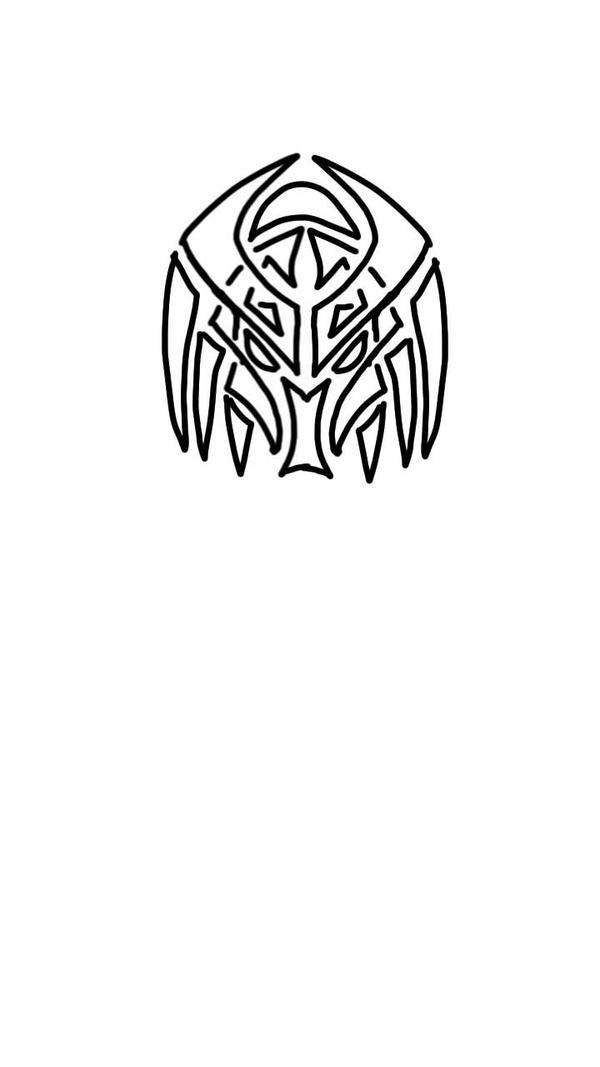 Predator Tribal/Celtic Tattoo Concept Design by LocanWinters