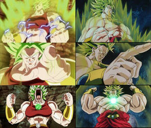 Legendary Super Saiyans Broly and Kale by ChiefWamsutta