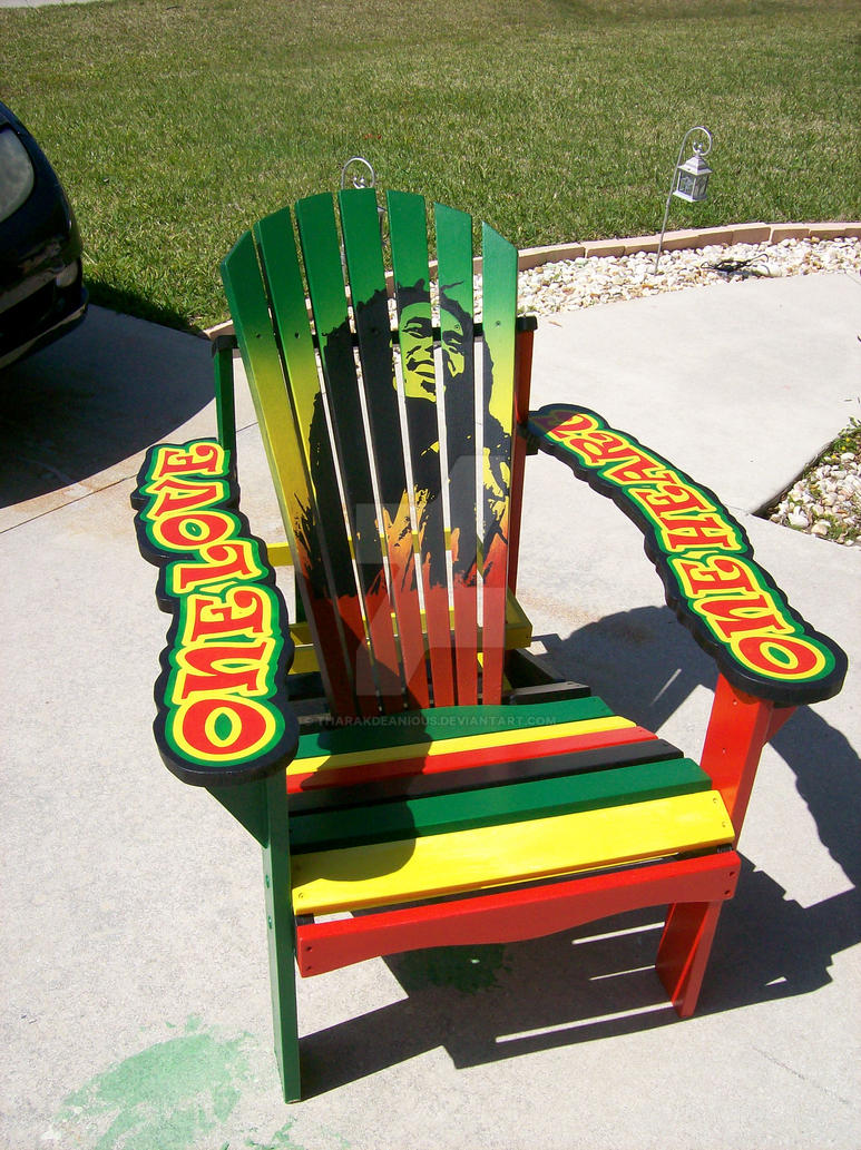 Bob Marley Chair By Tharakdeanious ...