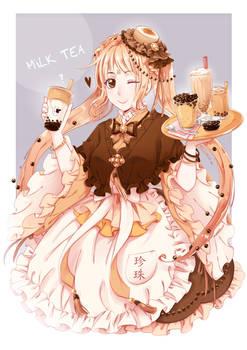 Bubble milk tea Girl