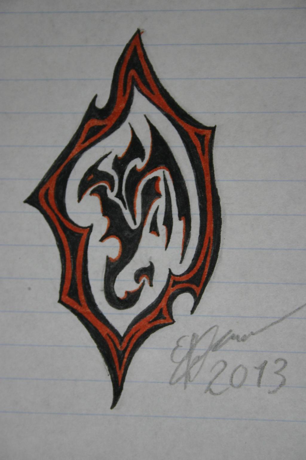 Little tattoo dragon by esmeekramer on deviantart for Little dragon tattoo