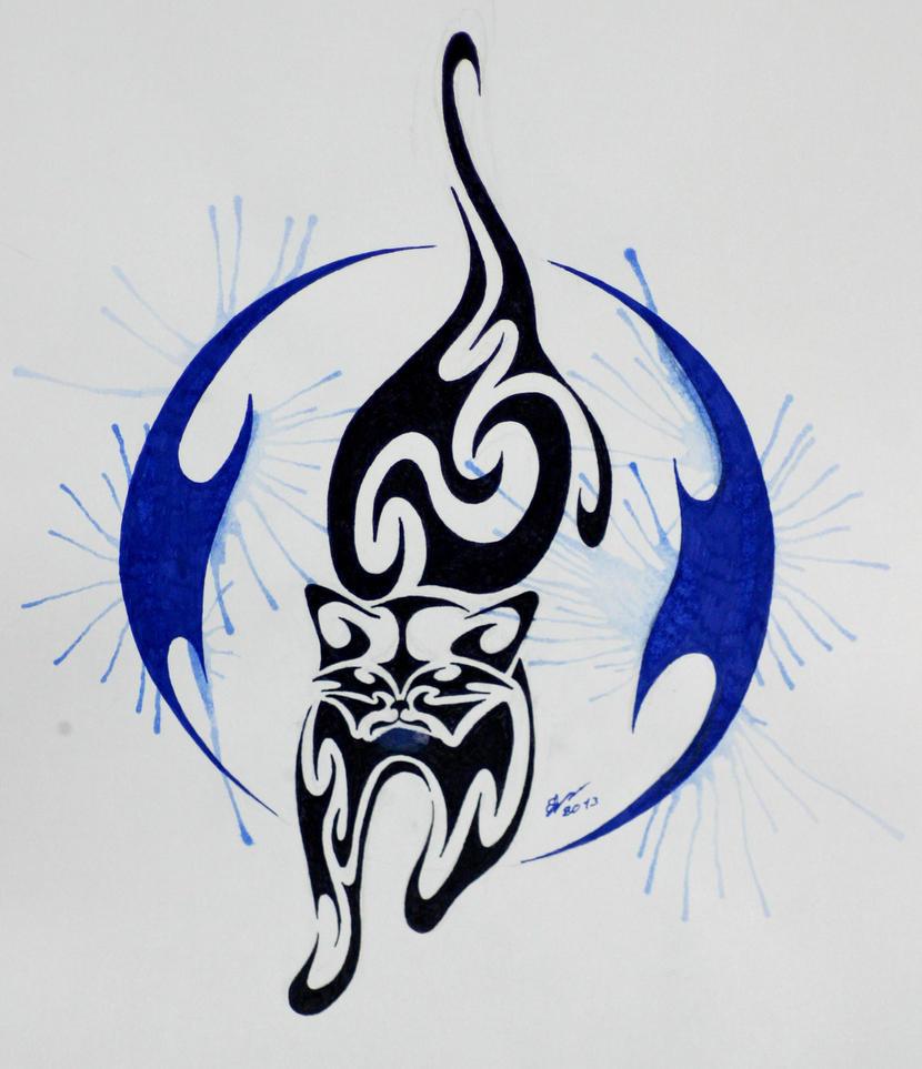 Tribal Raccoon by Esmeekramer