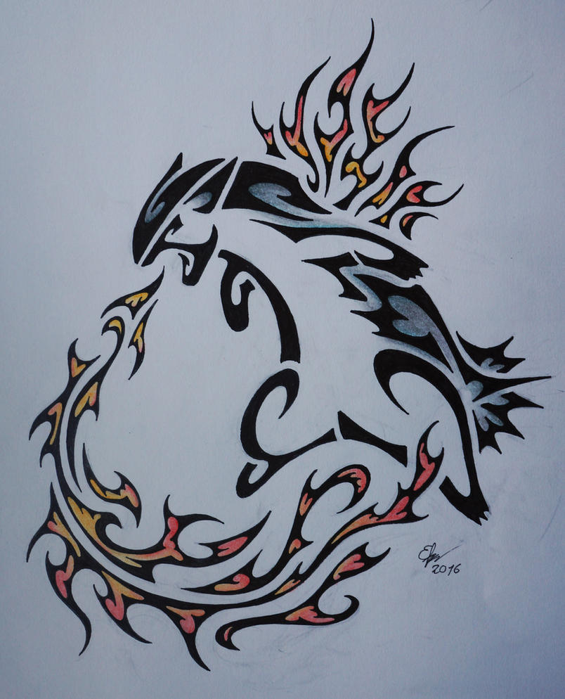Tribal Typhlosion By Esmeekramer On DeviantArt