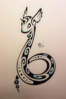 Tribal Dragonair by Esmeekramer