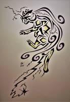 Tribal Raikou by Esmeekramer