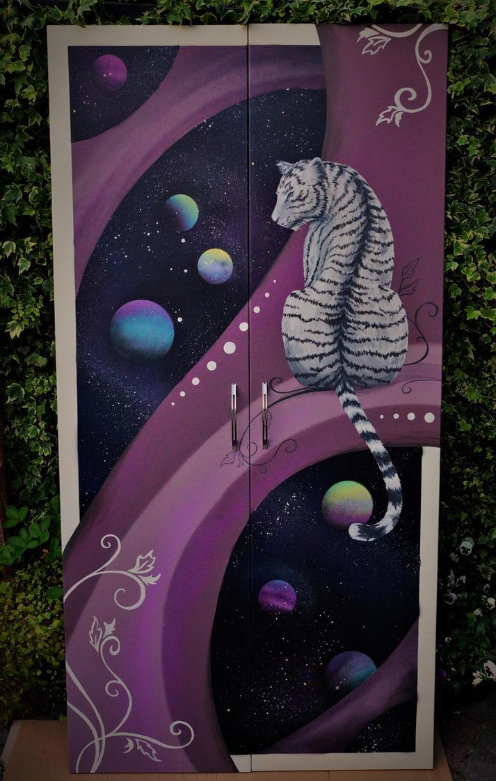 I painted my wardrobe doors. by Esmeekramer