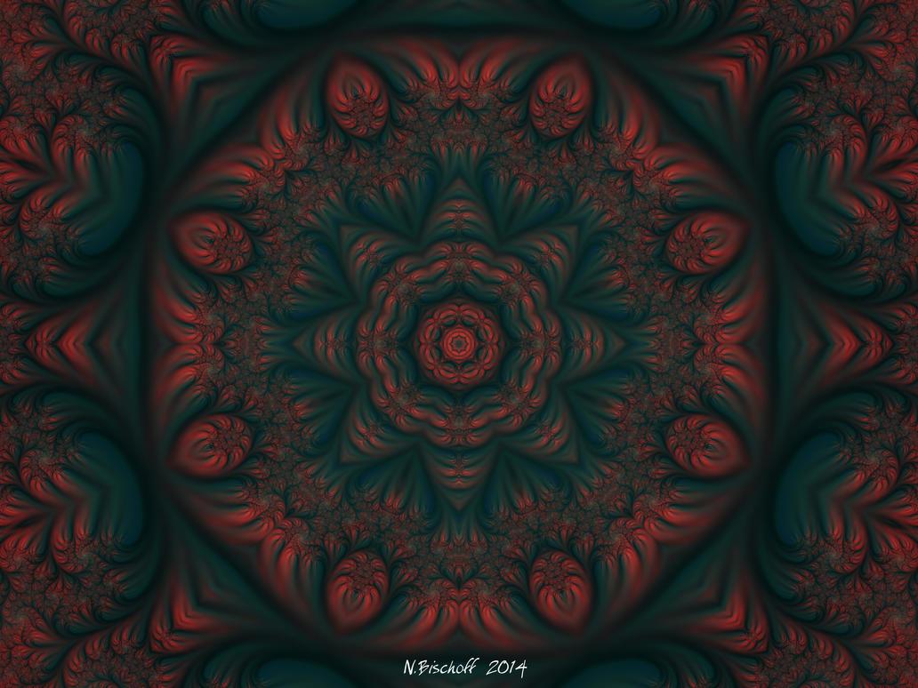 Moody Morning Mandala by DayStarArts