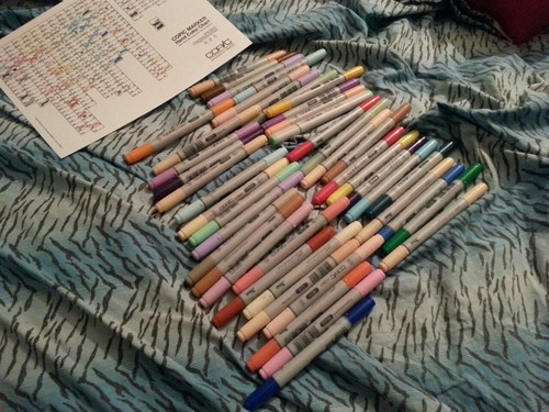 FOR SALE: Duplicate Copics by CheckerboardPrincess