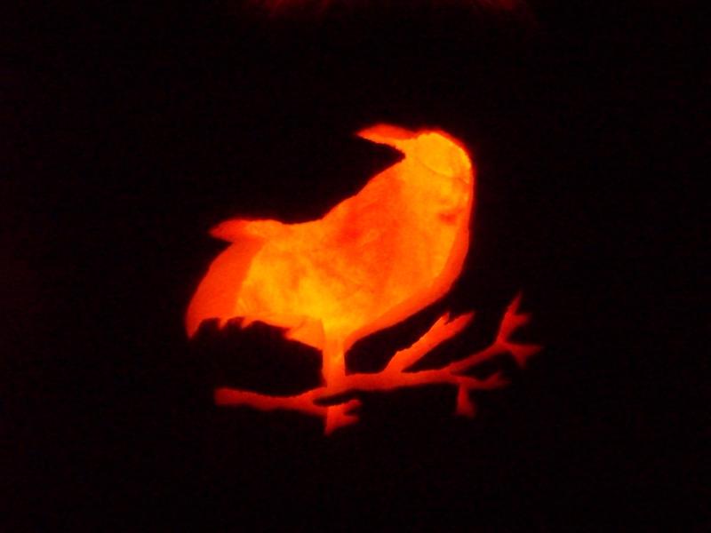 Flame Raven