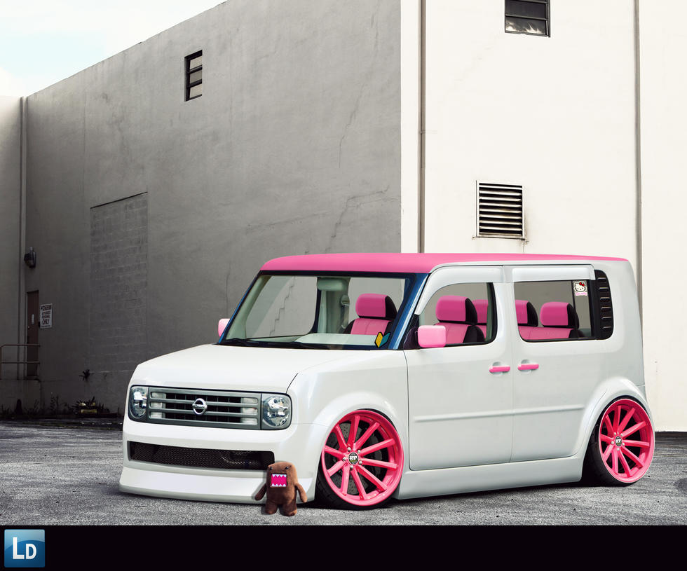 nissan cube by lexotic projects on deviantart. Black Bedroom Furniture Sets. Home Design Ideas