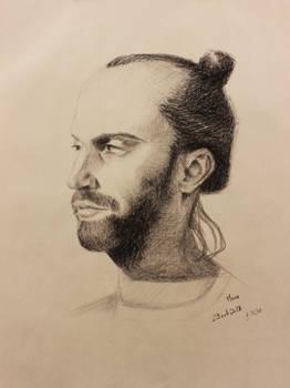 Portrait of Manu