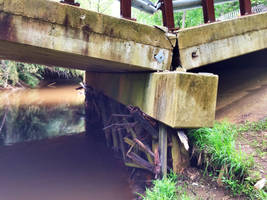 Collapsed Bridge by towerpower123