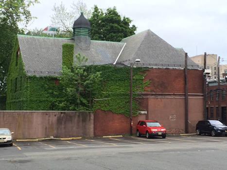 Building Covered in Vines in Newark
