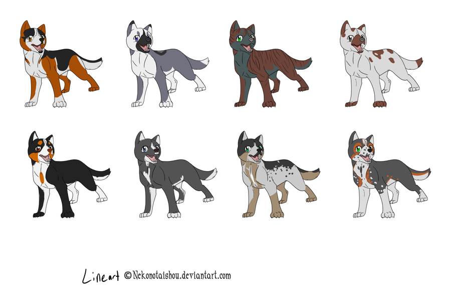 Dog adoptable sheet by Whitelupine