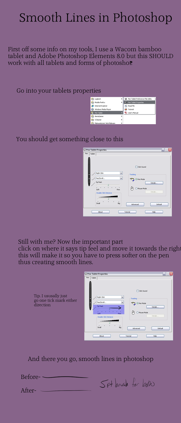 Digital Drawing Smooth Lines : Smooth lines in photoshop by whitelupine on deviantart