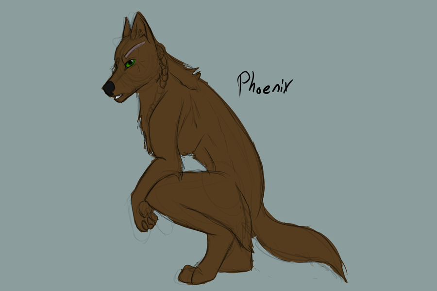 Prize: Pheonix/Samson by Whitelupine